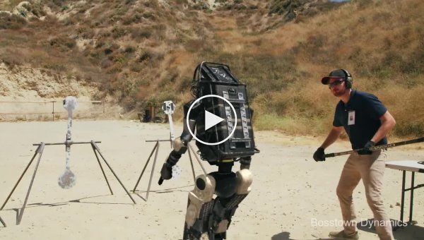 Робот в армии. Новая пародия на Boston Dynamics от Corridor Digital